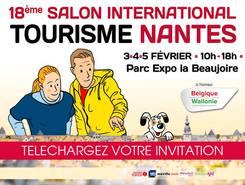 Invitation Salon internationnal Tourisme Nantes