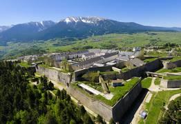 Citadelle de Mont-Louis en Pyrénées Catalanes
