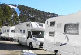 Parkeerplaatsen voor campers