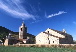 Eglise et chapelle de Err en Pyrénées Cerdagne