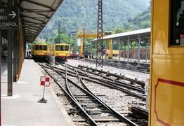 Gare du Train Jaune de Latour de Carol Enveitg
