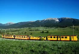 Train Jaune en Pyrénées Catalanes