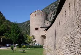 Villefranche de Conflent en Pyrénées Catalanes