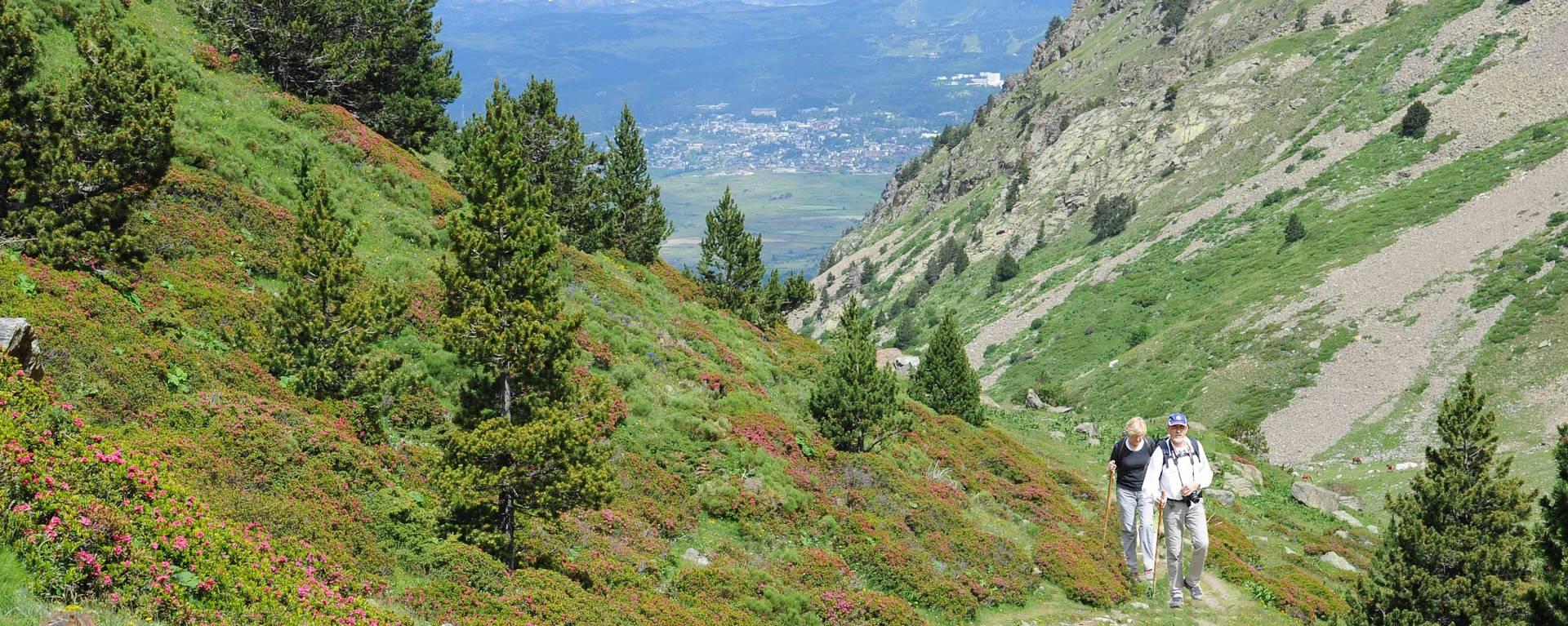 Magnifique panorama dans la vallée d'Eyne en Pyrénées Catalanes