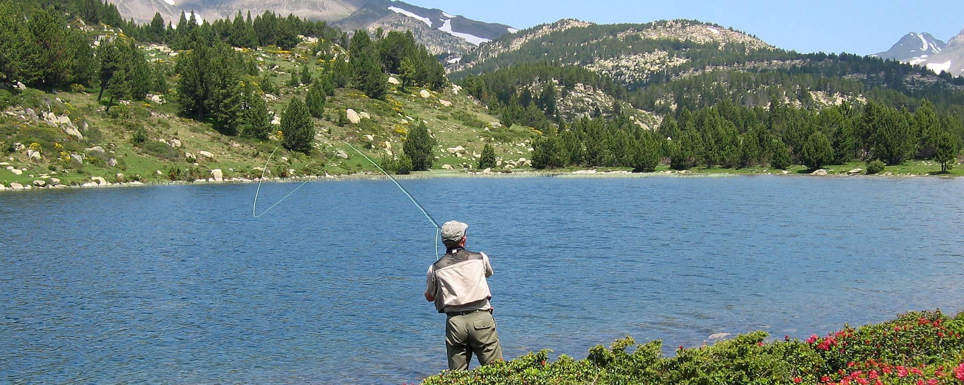 Pêche aux étangs du Carlit © F. Berlic