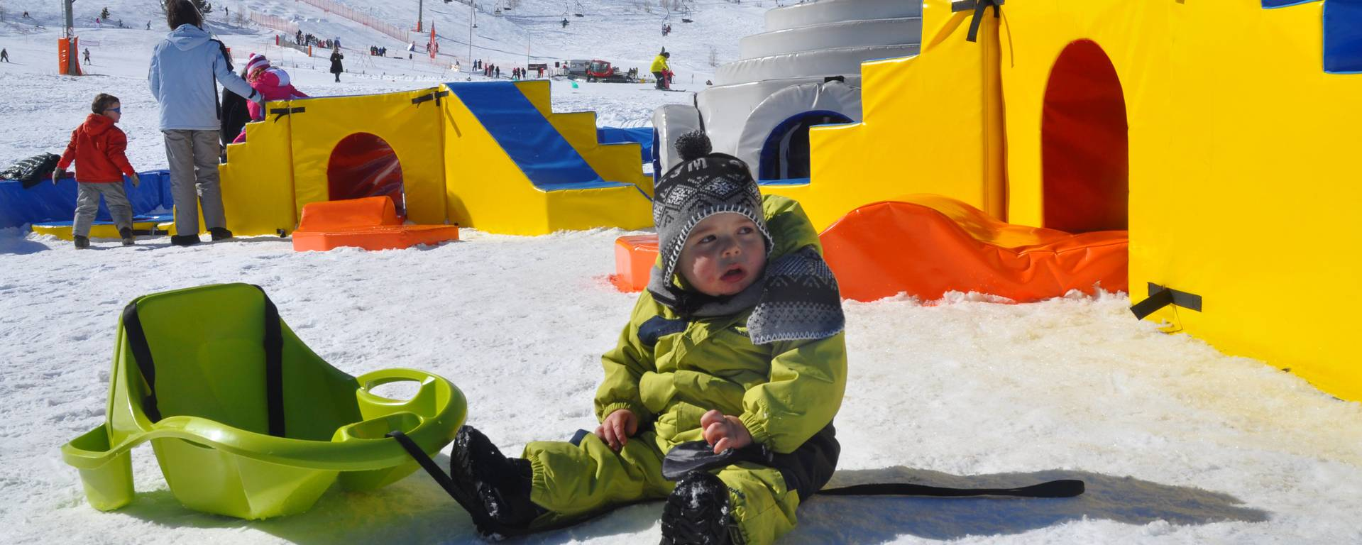L'espace enfant igloo de porty  ©Fredérique BERLIC