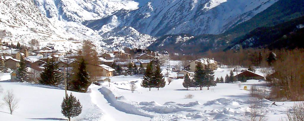 Het ski-oord
