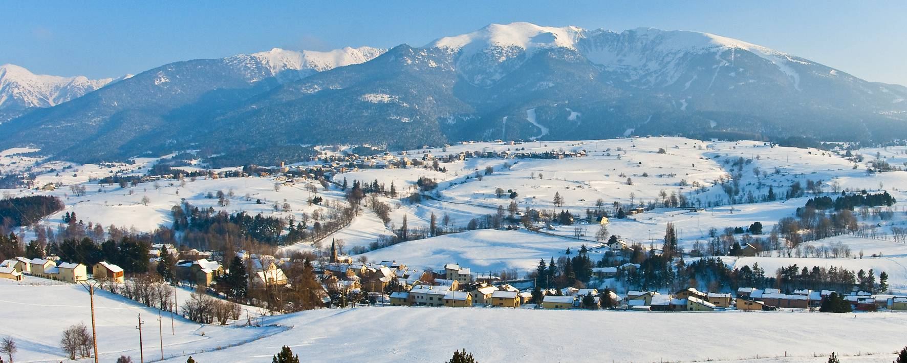 Village sous la neige © S.Burkhardt