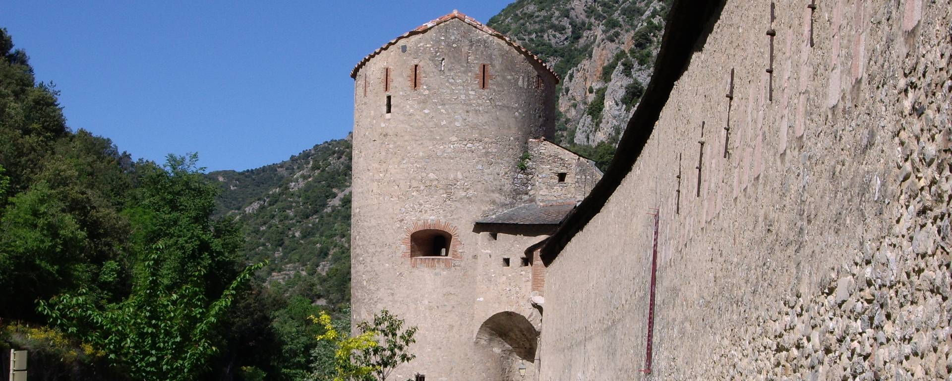 The ramparts of Villefranche de Conflent