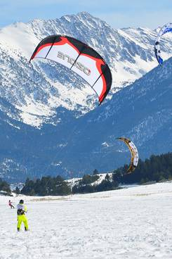Championnat de France de snow kite