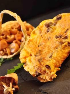 Omelette aux couriolettes