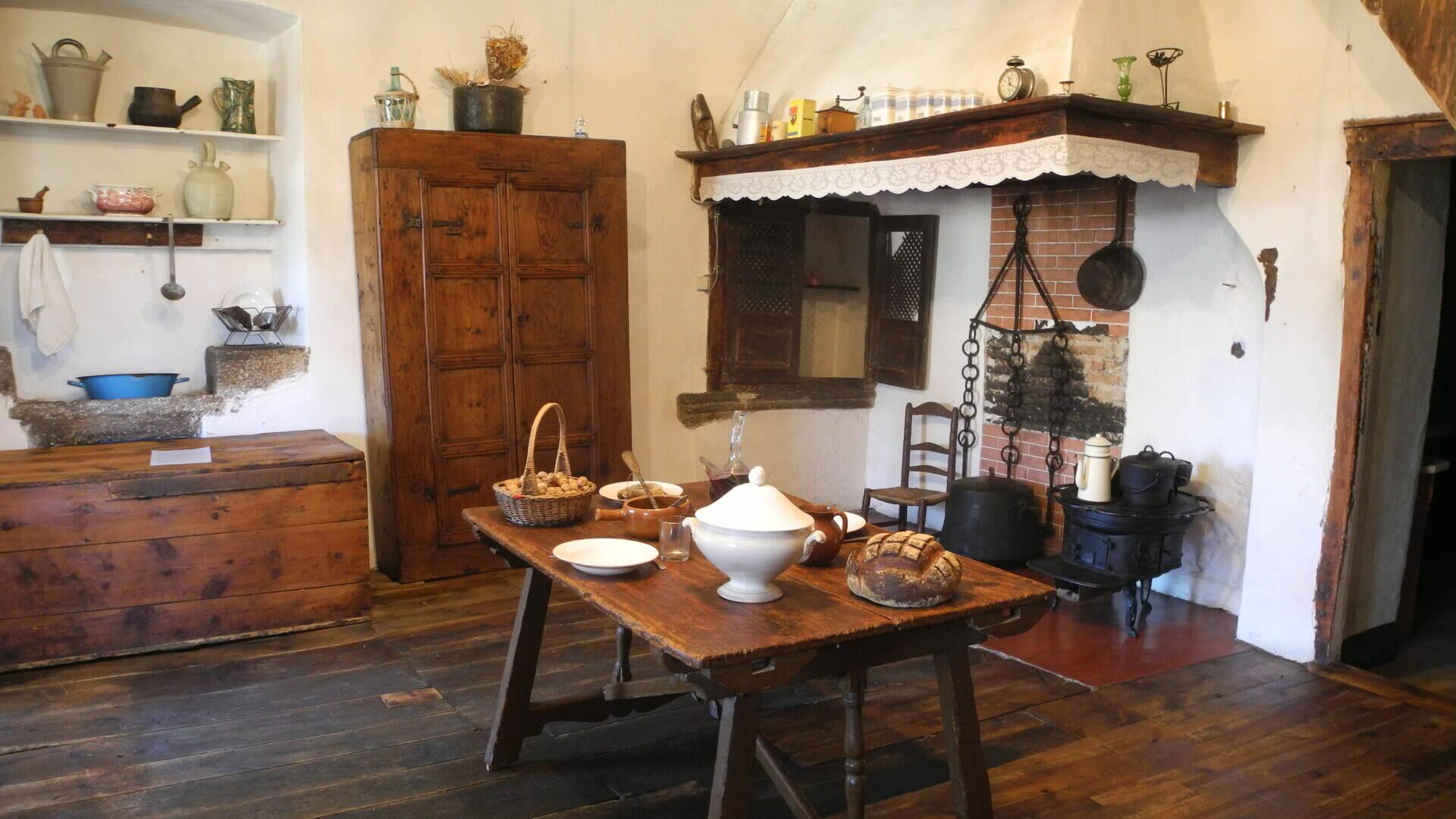 Cocina cerdana del siglo XIX