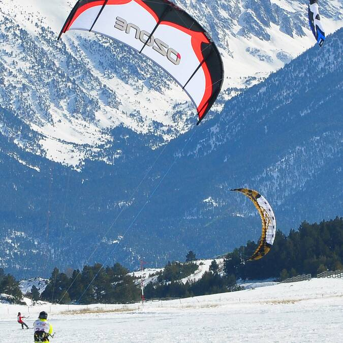 Championnat de France de snow kite © F. Berlic