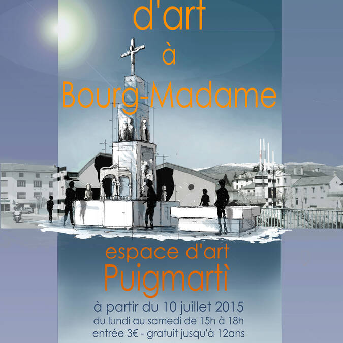 Puigmarti galleries at Bourg-Madame