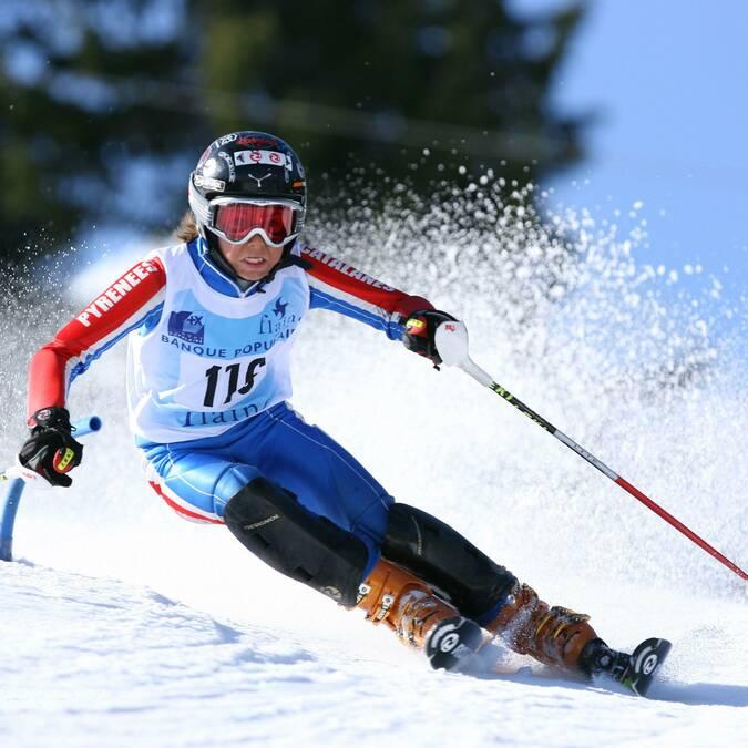 Championnat de France - slalom benjamin