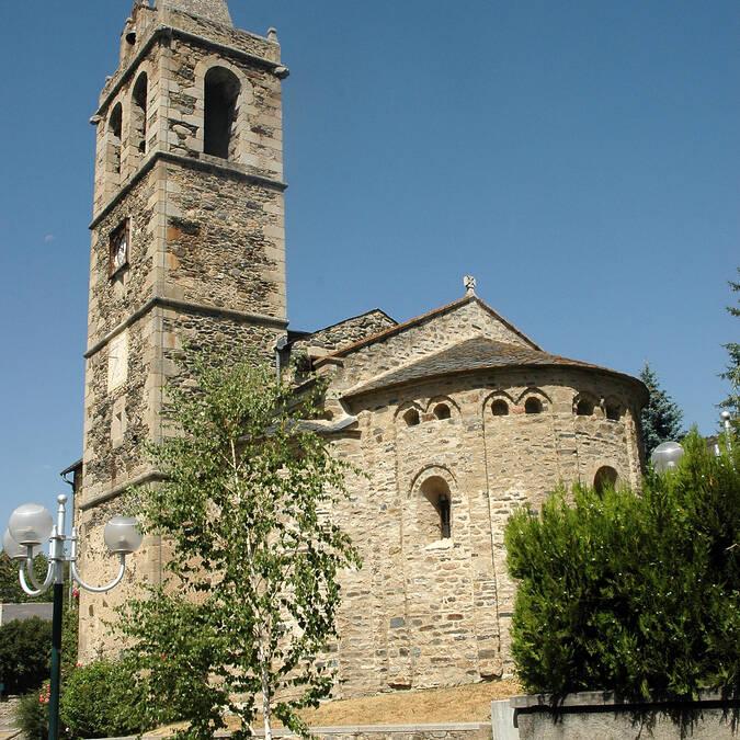 Eglise romane d'Ur en Pyrénées Cerdagne