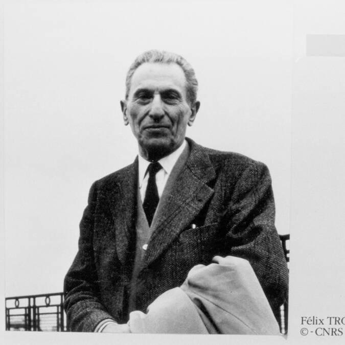 Félix Trombe © CNRS