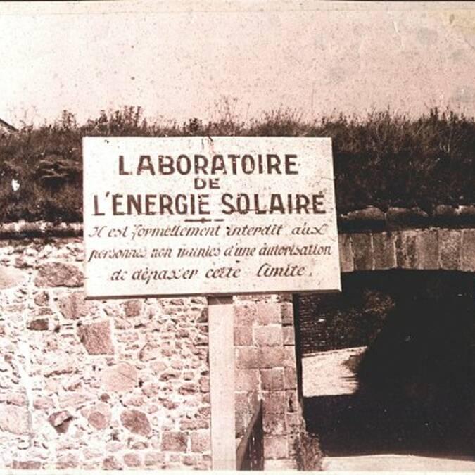 Oude foto van Mont-Louis