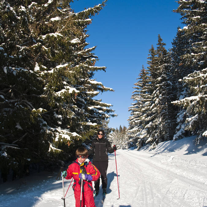 Balade en ski de fond