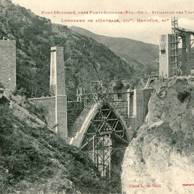 Werkzaamheden op de Séjourné brug